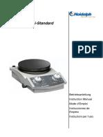 MR Hei-Standard Manual Heidolph