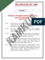 Internation Dispute Settlement