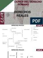 DERECHOS REALES ROMA