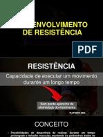 Aula 3 - Desenvolvimento de Resistência