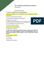 1 a. Ciencia y Criterios de Cientificidad