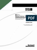 RSView ® Machine Edition™ [Installation Guide]