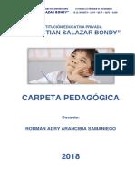Carpeta Pedagógica RAAS