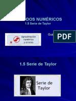 1.5 Serie de Taylor.pps
