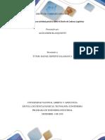 Fase 8 - Realizar Una Actividad Practica Sobre El Diseño de Cadena de Logisticas