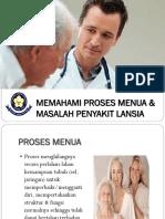 Proses Menua & Lansia