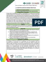 Ejemplo Ficha de Identificación de Buenas Prácticas