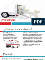 ambulancias