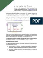 La cadena de valor de Porter.docx