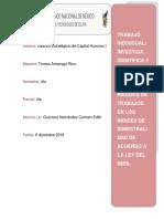 Investiga, Identifica y Calcula El Impacto de Los Riesgos de Trabajos en Los Índices de Siniestralidad de Acuerdo a La Ley Del Imss
