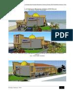 Laporan Desain Struktur Dan Arsitektural Gedung Gereja GPdI Parakletos Kawua