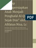 Mempersiapkan Anak Menghafal Al-Quran Sejak Dini.pdf