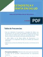 Tablas de Distribución de Frecuencias (2)