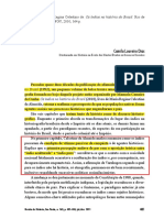 DIAS C Loureiro RESENHA História Dos Índios No Brasil MRC Almeida