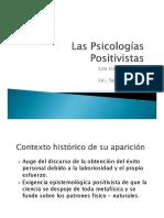 Las Psicologías Positivistas