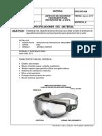 EPIS-PE-004 Anteojo Panoramico de Seguridad