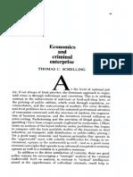 Economics and Criminal Enterprise ()- Schelling, T.