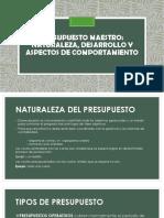 Presupuesto Maestro -Pptx