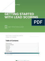 Getting Started With Lead Scoring Best Practices Guide
