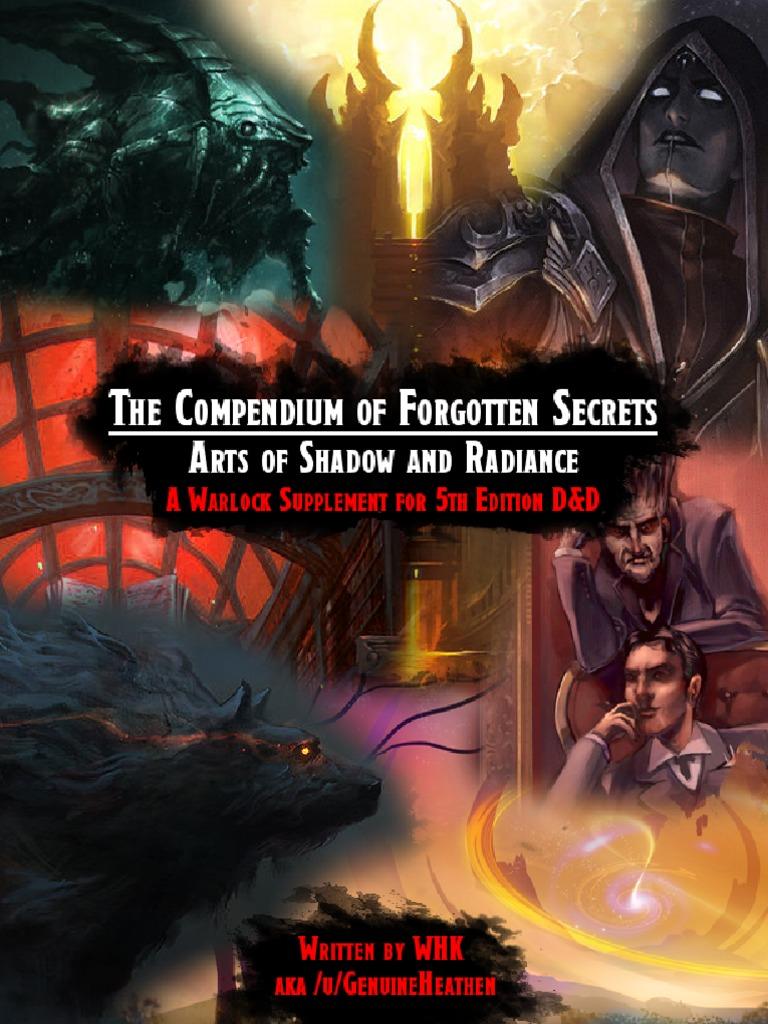 Compendium of Forgotten Secrets - ASR v1 5 pdf