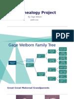 Gage Welborn - Genealogy Project.pptx