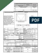 Especificación de Puertas y Ventanas DITEC