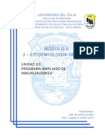 XII- Programa Ampliado de Inmunizaciones