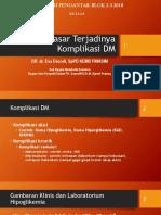 Opt Dasar Komplikasi Dm Tipe Dou Pptx