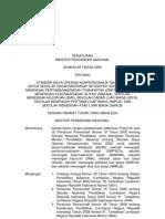 7. Permendiknas No. 69 Th. 2009 Standar Pembiayaan Pendidikan