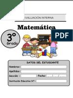 3-ERAI-Matematica Tercer Grado Primariaxxx