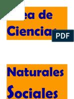 Área de Ciencias Naturales