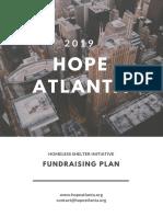 Fundraising Plan HOPE Atlanta Final Version