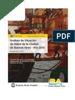 Análisis de Situación de Salud de la Ciudad Autónoma de Buenos Aires – Año 20