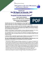 UNReportonGenocide Excerpts