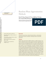 Annurev Physchem Random Phase Approximation Methods