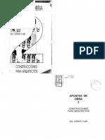 Apuntes de Obra 2-Construcciones Para Arquitectos - Cussi - completo - Arquilibros - AL.pdf