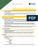 07. Medidas de asociación epidemiológica