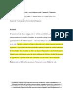 Habitat, participación social y envejecimiento en la comuna de Valparaíso