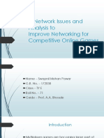 A Network Issues and Analysis To