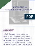 Cnc Introduction