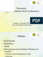 Presentasi Akhir StartUp