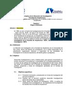 Normativo Direccion de Investigacion