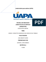 tarea 1 de Legislacion Laboral uapa..docx