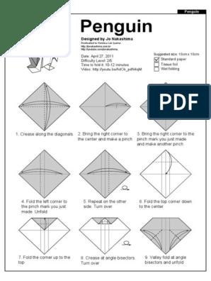 Assorted Tesselations Modular Origami by alabasterdragon on DeviantArt | 396x298