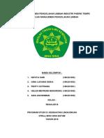 Manajemen Pengolahan Limbah Pabrik Tempe