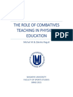 The Role of Combatives Teaching in Physical Education