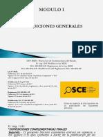 NUEVA LEY DE CONTRATACIONES DEL ESTADO - DISPOSICIONES GENERALES