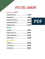 EL PUNTO DEL SABOR.docx