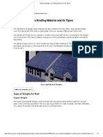 Asphalt Shingles as Roofing Material and its Types