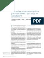 Nouvelles Recommandations Pour Les Frottis 2017